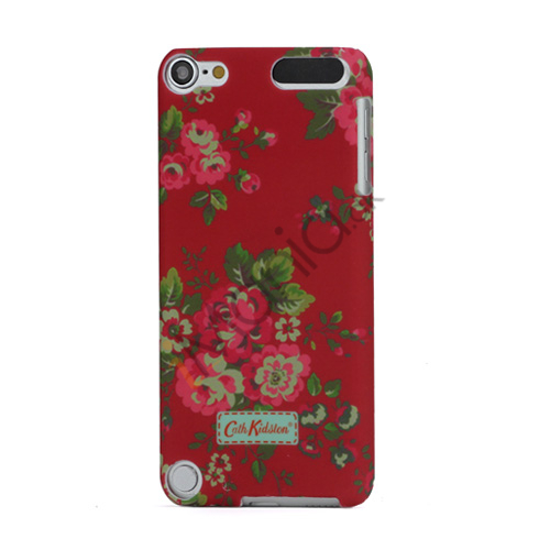 Slim Gummibelagt Rødt Floral Design by Cath Kidston Hard Case til iPod Touch 5