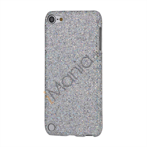 Image of   Bling Pailletter Beskyttende Hard Case Cover til iPod Touch 5 - Sølv