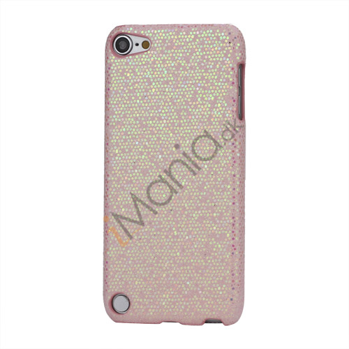 Image of   Bling Pailletter Beskyttende Hard Case Cover til iPod Touch 5 - Light Pink