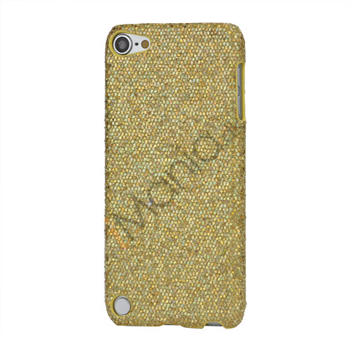 Image of   Bling Pailletter Beskyttende Hard Case Cover til iPod Touch 5 - Gulden