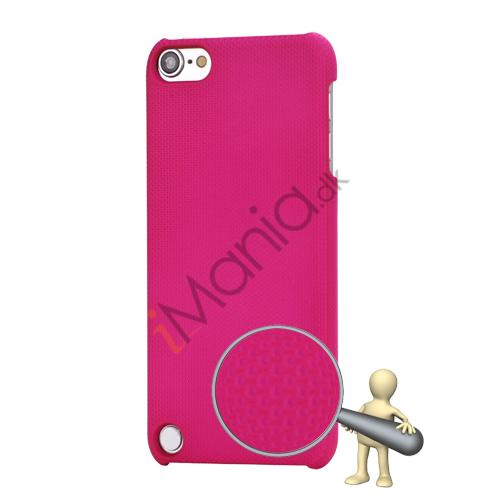 Stærk Hard Gitter Net Skin Case Cover til iPod Touch 5 - Rose