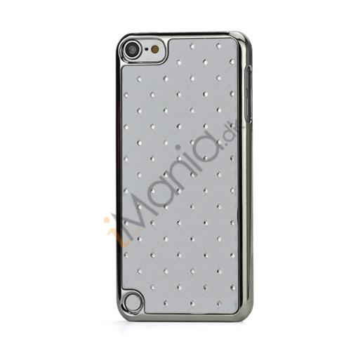 Superb  Diamant Galvaniseret Hard Case til iPod Touch 5 - Hvid