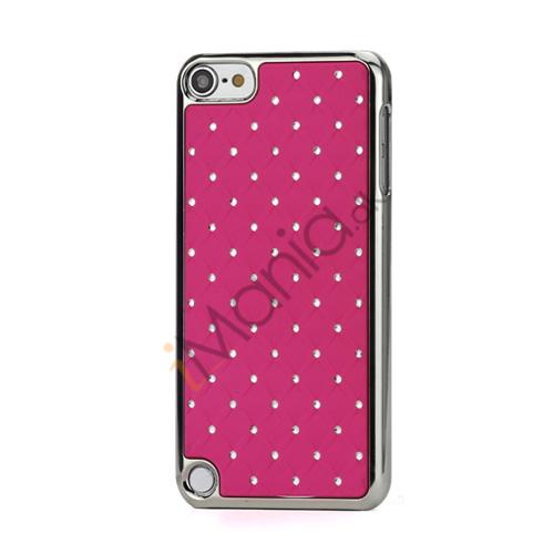 Superb  Diamant Galvaniseret Hard Case til iPod Touch 5 - Rose