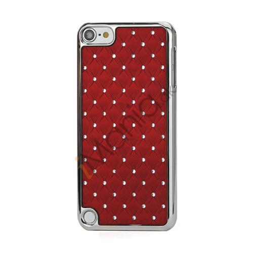 Billede af Superb  Diamant Galvaniseret Hard Case til iPod Touch 5 - Rød