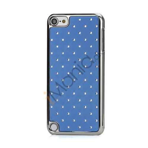 Superb  Diamant Galvaniseret Hard Case til iPod Touch 5 - Lyseblå