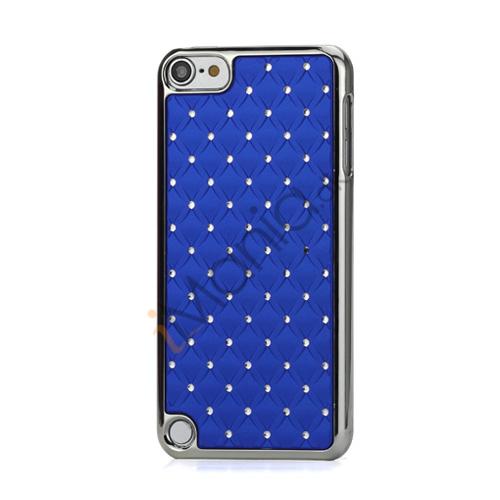 Superb  Diamant Galvaniseret Hard Case til iPod Touch 5 - Mørkeblå