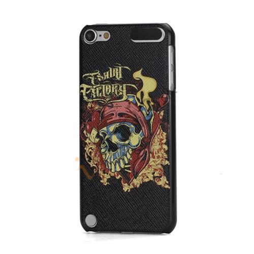 Ny Farverigt Dødningehoved prægning Hard Back Cover Skin Case til iPod Touch 5