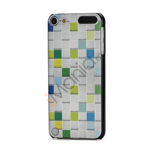 Image of   Præget Square Grain Hard Beskyttelses Case Skin til iPod Touch 5