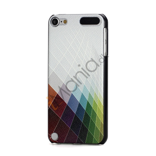 Image of   Brand New Præget farverigt mønster Open-Face Hard Case Skin til iPod Touch 5