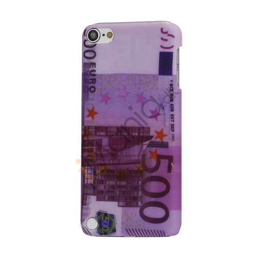 Image of   Cool 500 Euro Pengeseddel Ultra-Slim Hårdt Beskyttende Case til iPod Touch 5