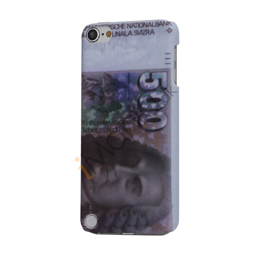 Image of   500 Franken Francs Banknote Rubber Coating plast Hard Case til iPod Touch 5