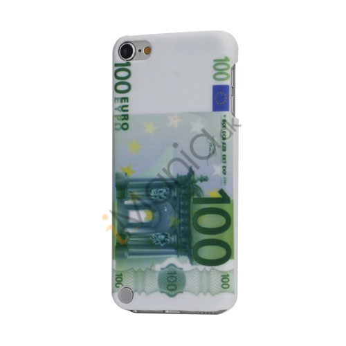 Glat Tynd hård Skin Case Cover til iPod Touch 5 med One Hundred Euro Design