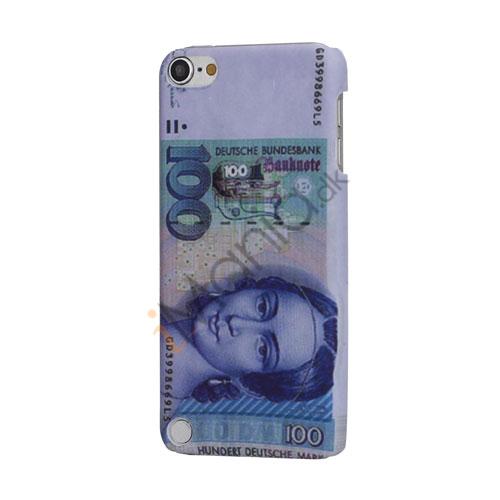 Stilfuld 100 Deutsche Mark Pengeseddel hård plast Beskyttende Case til iPod Touch 5