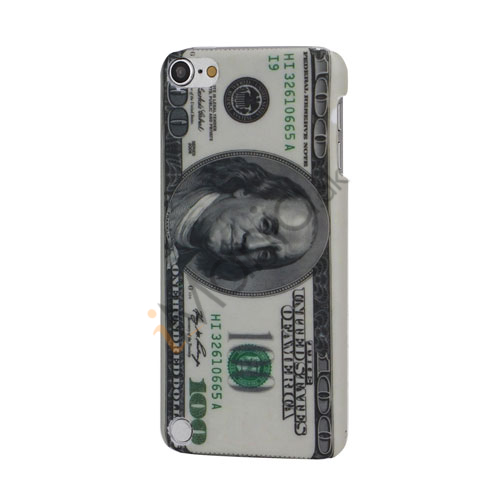 US One Hundred Dollars Beskyttende Hard Shell Case Cover til iPod Touch 5