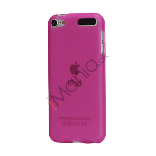 Glat TPU Gel Case Tilbehør til iPod Touch 5 - Rose