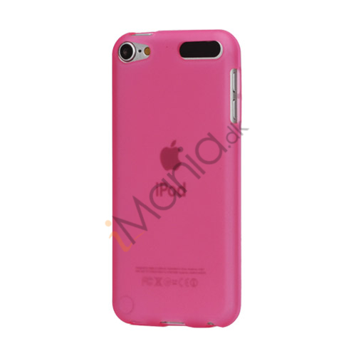 Image of   Glat TPU Gel Case Tilbehør til iPod Touch 5 - Pink
