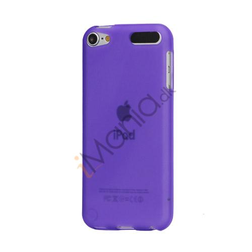 Glat TPU Gel Case Tilbehør til iPod Touch 5 - Lilla