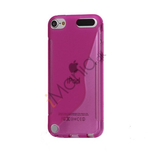 S-formet TPU Cover til iPod Touch 5 - Lilla