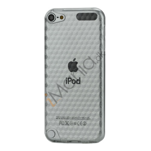 Image of   iPod Touch 5 Sekskantet Diamant TPU Gel Skin Cover - Gennemsigtig