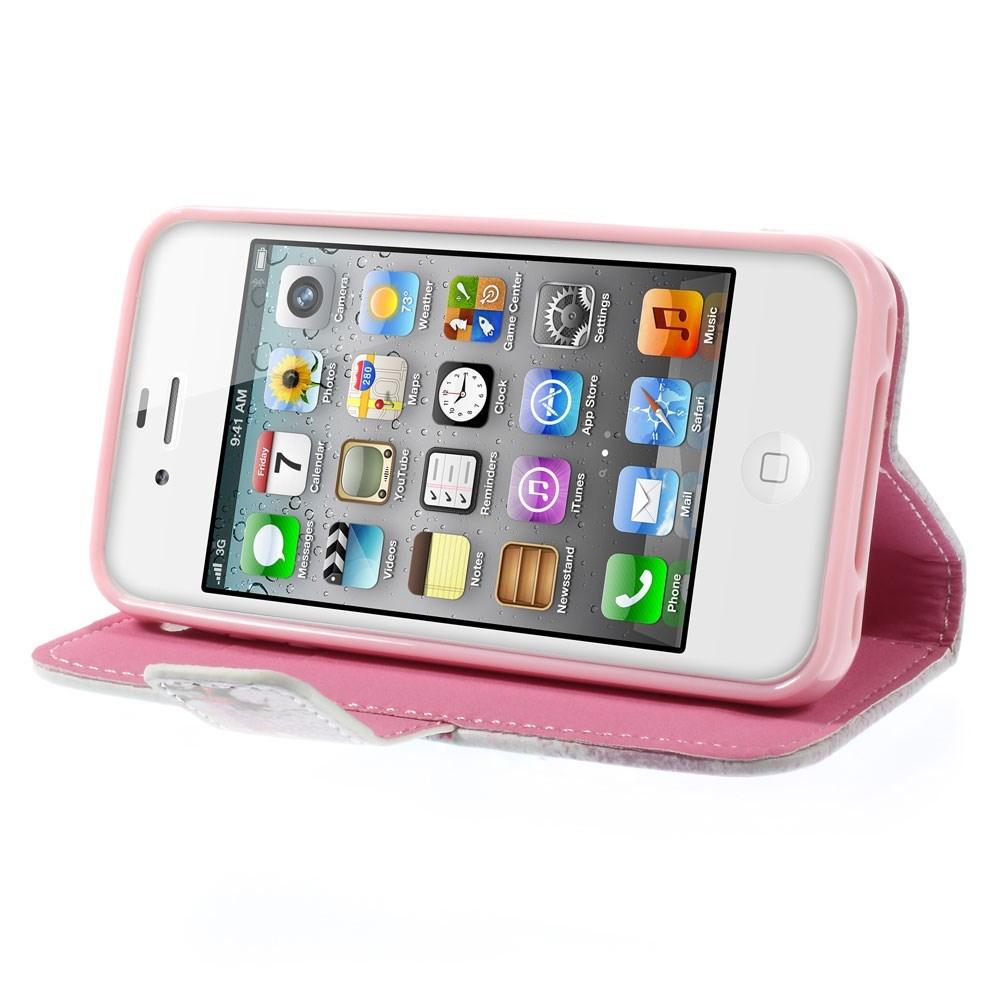 pink etui med ridepige til hest til iphone 4 iphone 4s. Black Bedroom Furniture Sets. Home Design Ideas