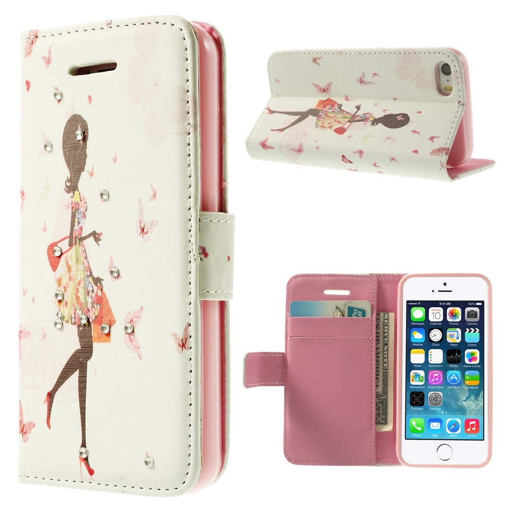Image of   iPhone 5 Bling-etui - Shopping-Pige