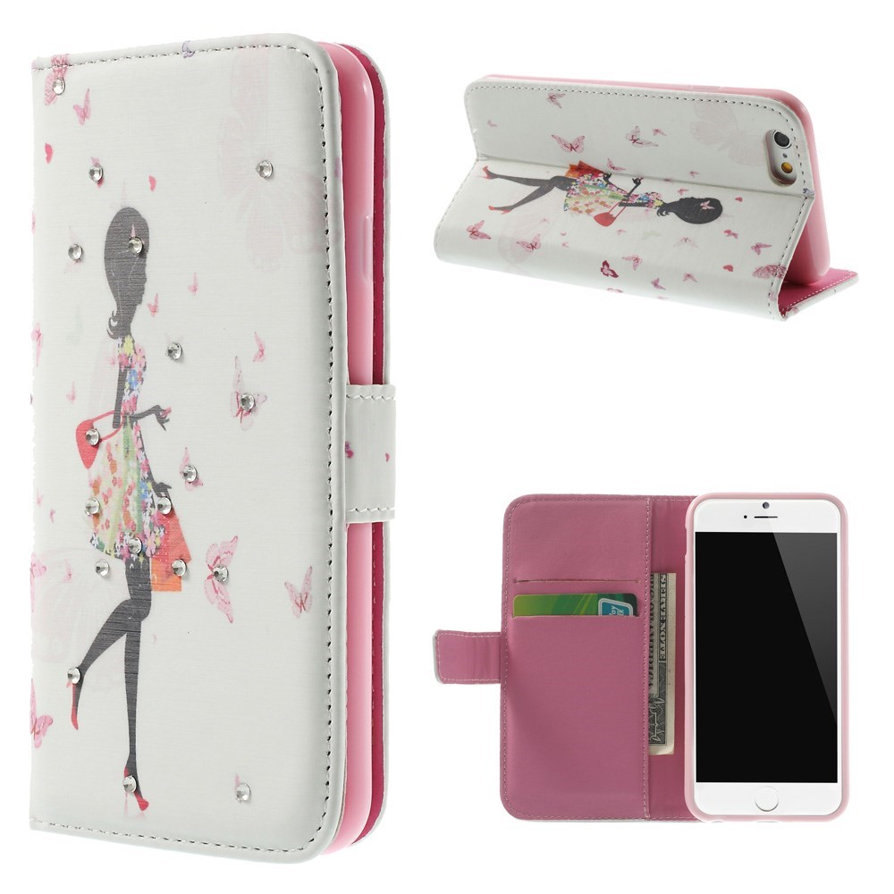Image of   iPhone 6 Bling-etui - Shopping-Pige