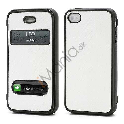 Image of   TPU Etui-Cover til iPhone 4 4S - Hvid
