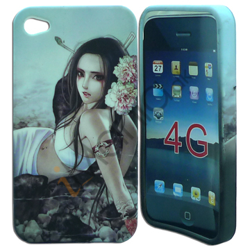 Goth Chick iPhone 4 cover nr 2