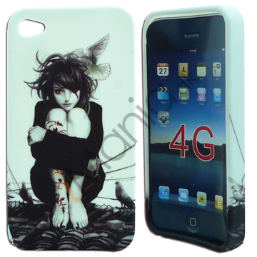 Image of   Goth Chick iPhone 4 cover nr 3