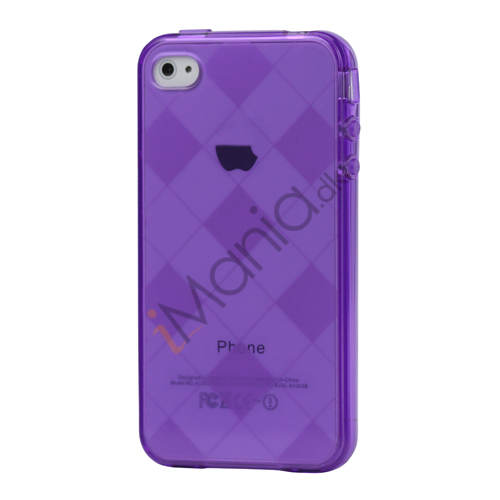 Image of   Ternet iPhone 4 4S TPU Cover - Lilla