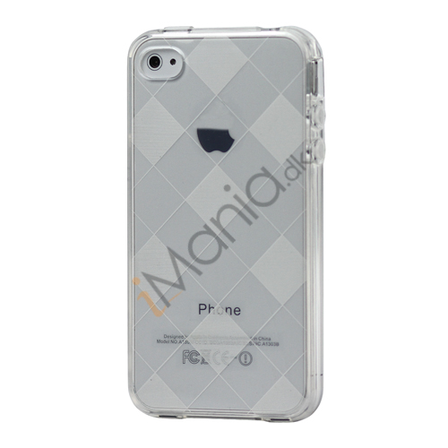 Image of   Ternet iPhone 4 4S TPU Cover - Gennemsigtig
