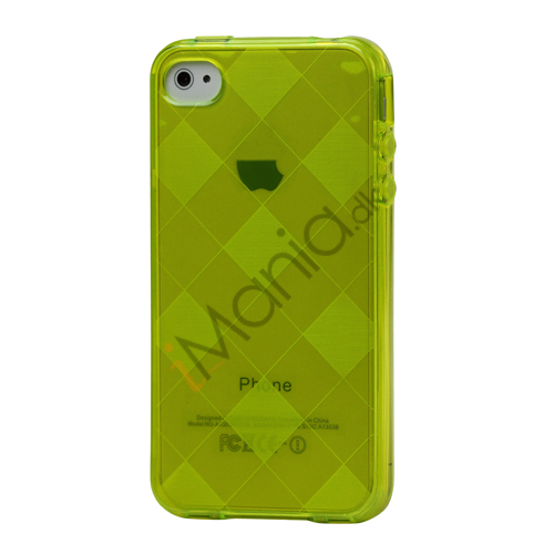 Image of   Ternet iPhone 4 4S TPU Cover - Gul