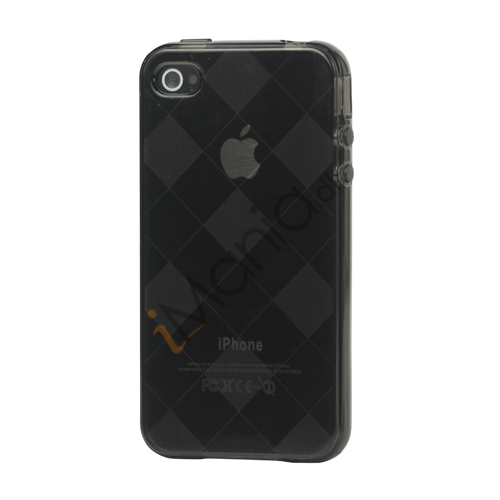 Image of   Ternet iPhone 4 4S TPU Cover - Grå