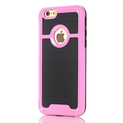 iPhone 7 kombi-cover PC/TPU, pink