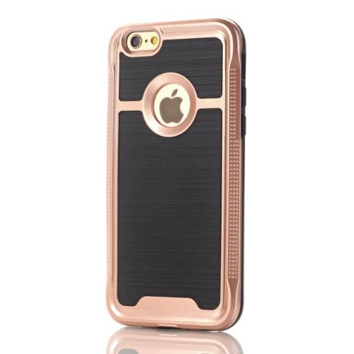 iPhone 7 kombi-cover PC/TPU, rose gold
