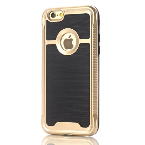 iPhone 7 kombi-cover PC/TPU, guld