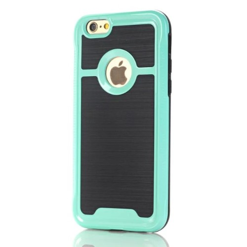 iPhone 7 kombi-cover PC/TPU, grøn