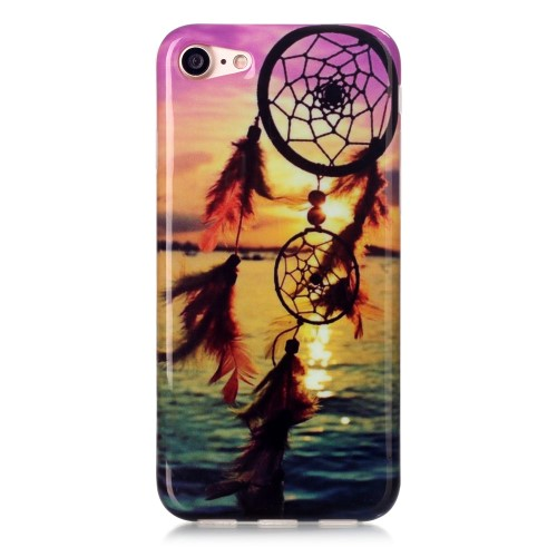 iPhone 7 Cover - Solnedgang og dreamcatcher