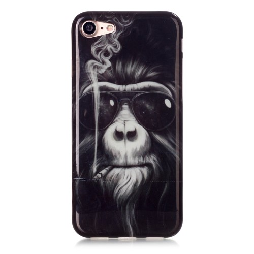 iPhone 7 Cover - Rygende Orangutang