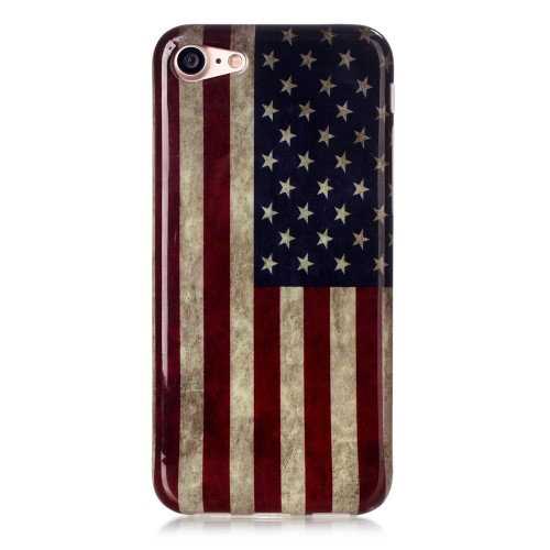 iPhone 7 Cover - Retro US Flag