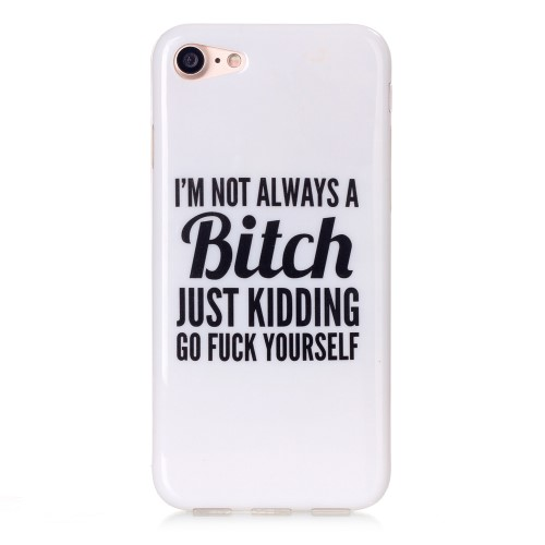 "iPhone 7 Cover - ""Im not always a bitch.."""