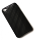 iPhone 4 / 4S cover perforeret sort