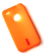 iPhone 4 / 4S cover orange gummi