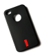 iPhone 4 / 4S cover sort gummi
