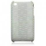 Perforeret iPhone 3G cover, hvid
