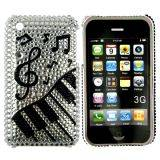 iPhone 3G bling cover med piano