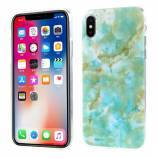 iPhone X TPU-cover - Marmor