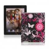 Butterfly Blomster Hard Cover Case til Den Nye iPad 2. 3. 4. Gen