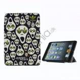 Jeremy Scott X Adidas Lovely Cartoon Læder Smart Cover Case til iPad Mini med Stand