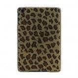 Leopard Swarovski Diamante Hard Back Shell Cover til iPad Mini